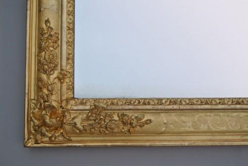Miroir d'époque Restauration - Mirrors, Trumeau Style Restauration - Charles X