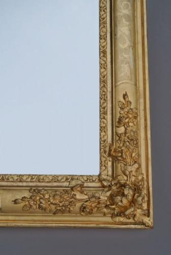 Mirrors, Trumeau  - Miroir d'époque Restauration