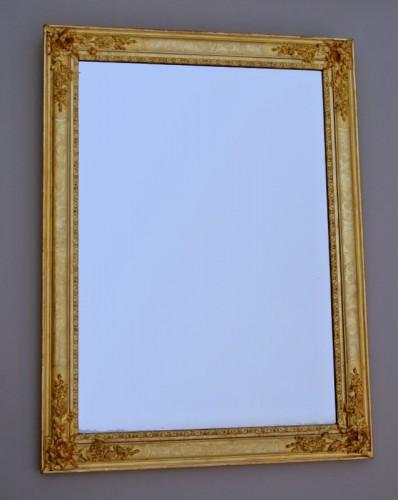 Antiquités - Miroir d'époque Restauration