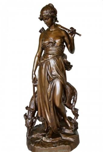 """""""Nymphe de Diane"""" by Eugène AIZELIN (1821/1902)"""