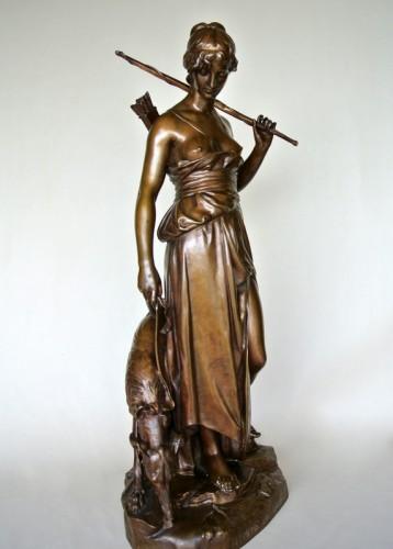 """""""Nymphe de Diane"""" by Eugène AIZELIN (1821/1902) -"""