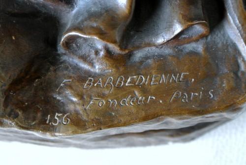 """Antiquités - """"Nymphe de Diane"""" by Eugène AIZELIN (1821/1902)"""