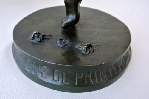 """Antiquités - """"Folie de Printemps"""" by Pierre DELANNOY"""