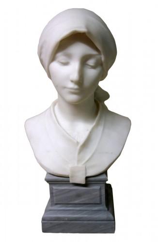 Carrara marble - A. LEONARD (1841/1923)
