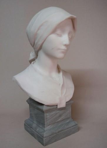 Carrara marble - A. LEONARD (1841/1923) -