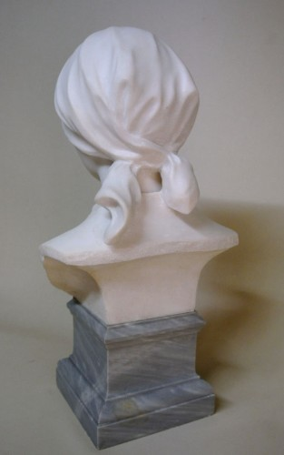 Art nouveau - Carrara marble - A. LEONARD (1841/1923)