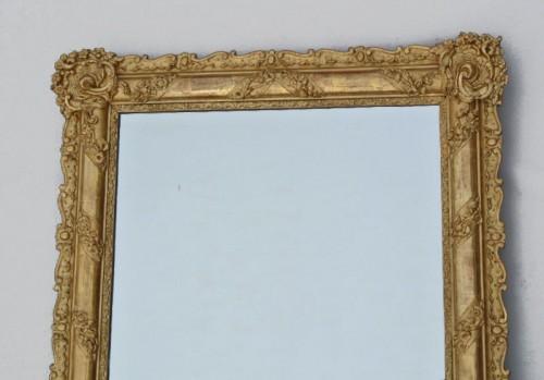 Miroir du XIXème siècle 105 X 84 - Mirrors, Trumeau Style Restauration - Charles X