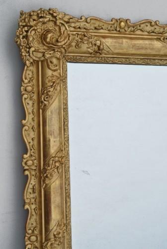 Miroir du XIXème siècle 105 X 84 -