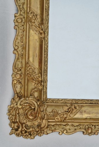 Miroir du XIXème siècle 105 X 84 - Restauration - Charles X
