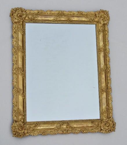 Restauration - Charles X - Miroir du XIXème siècle 105 X 84