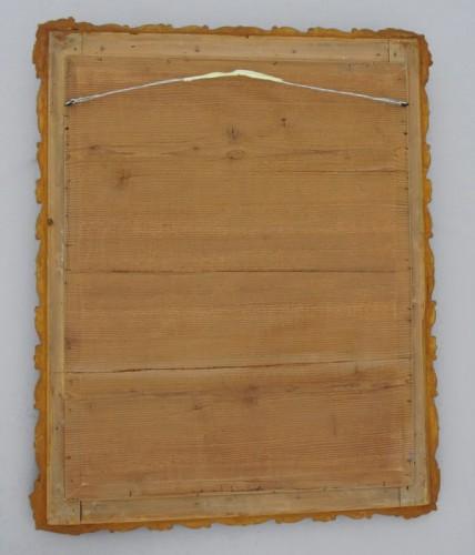 Antiquités - Miroir du XIXème siècle 105 X 84