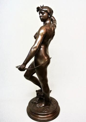 Diane Huntress - Alexandre Falguière (1831/1900) - Sculpture Style Art nouveau
