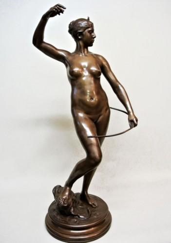 Diane Huntress - Alexandre Falguière (1831/1900) - Art nouveau