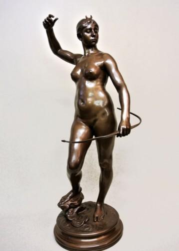 Art nouveau - Diane Huntress - Alexandre Falguière (1831/1900)