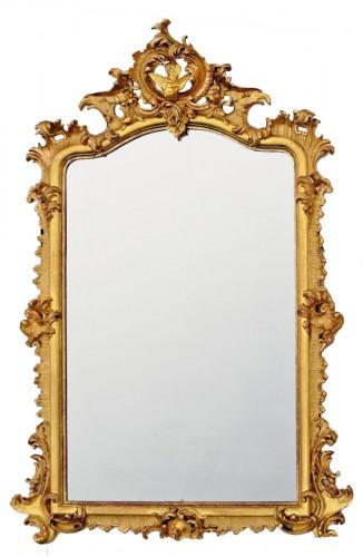 Grand miroir Napoléon III  203 X 133