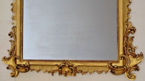 Furniture  - Grand miroir Napoléon III  203 X 133