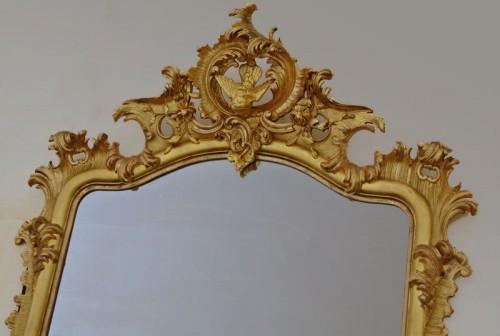 Grand miroir Napoléon III  203 X 133 -