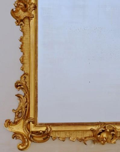 Grand miroir Napoléon III  203 X 133 - Napoléon III
