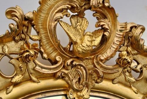 Napoléon III - Grand miroir Napoléon III  203 X 133