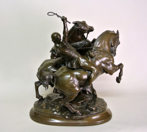 Bronze group signed FREMIET (1824/1910) -