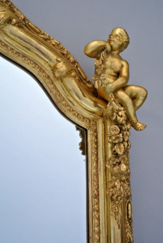 Antiquités - Miroir Napoléon III