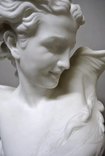 """Sculpture  - Bust """" Le Génie de la Danse"""" d'après JB Carpeaux (1827/1875)"""
