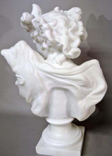"""20th century - Bust """" Le Génie de la Danse"""" d'après JB Carpeaux (1827/1875)"""