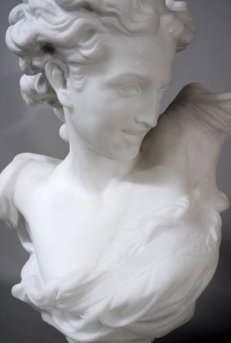 """Art nouveau - Bust """" Le Génie de la Danse"""" d'après JB Carpeaux (1827/1875)"""