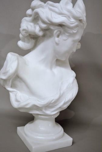 """Antiquités - Bust """" Le Génie de la Danse"""" d'après JB Carpeaux (1827/1875)"""