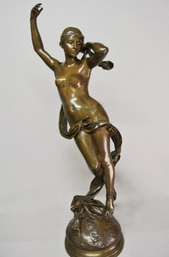 """The Shepherd's star"" by Luca Madrassi 1848/1919 - Sculpture Style Art nouveau"