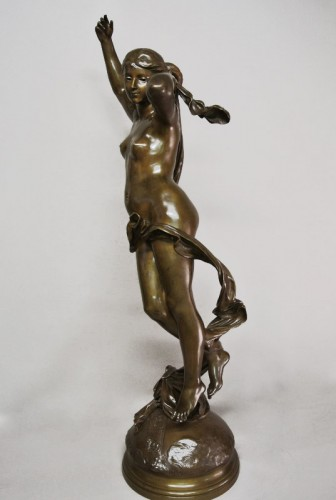 "Art nouveau - ""The Shepherd's star"" by Luca Madrassi 1848/1919"