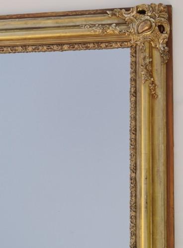 Mirrors, Trumeau  - 19th-century Mirror