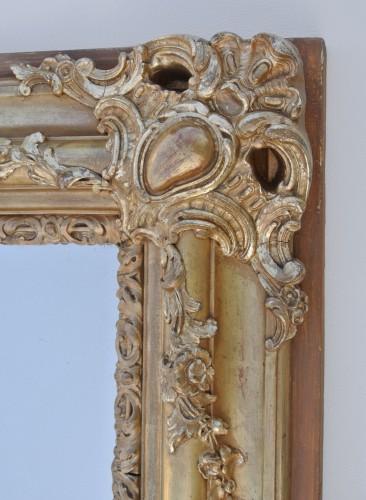 19th-century Mirror  - Restauration - Charles X