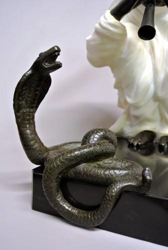 """""""Snake charmer"""" by  Alfredo Morelli (XIX/XXème) -"""