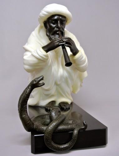 "20th century - ""Snake charmer"" by  Alfredo Morelli (XIX/XXème)"