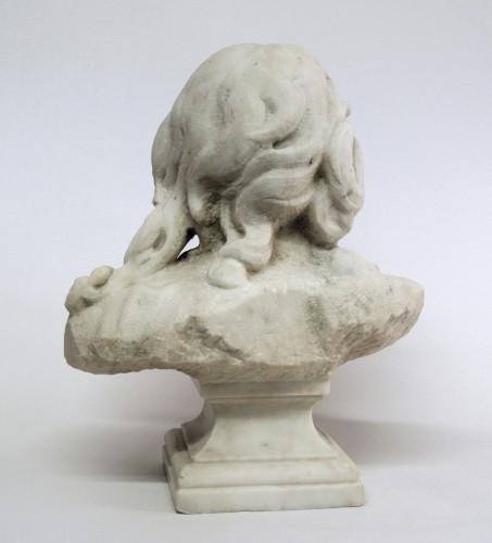 """19th century - """"Buste du Christ"""" marbre d'époque XIXème"""