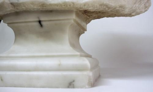"""""""Buste du Christ"""" marbre d'époque XIXème -"""