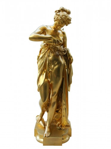 """Psyché à la lampe"" A.Carrier-Belleuse (1824/1887)"