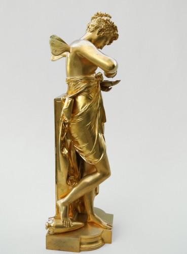 """20th century - """"Psyché à la lampe"""" A.Carrier-Belleuse (1824/1887)"""