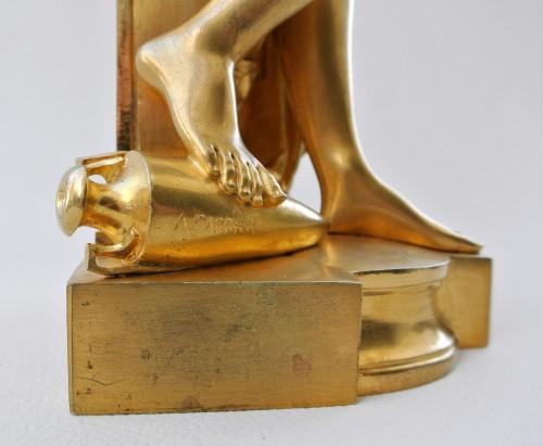 """Antiquités - """"Psyché à la lampe"""" A.Carrier-Belleuse (1824/1887)"""