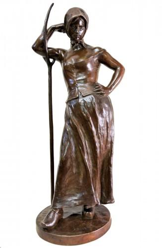 La Faneuse - Alfred Boucher (1850-1934)