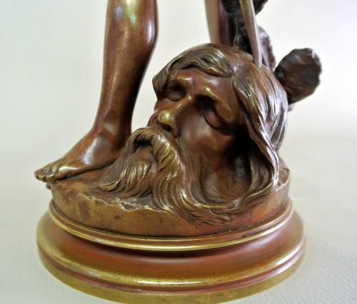 """""""David vainqueur"""" Henri Plé (1853/1922) - Art nouveau"""