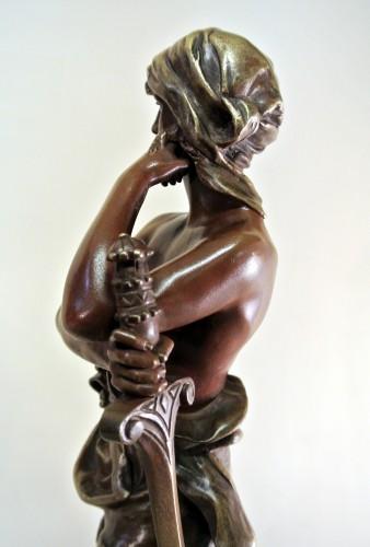 """Art nouveau - """"David vainqueur"""" Henri Plé (1853/1922)"""