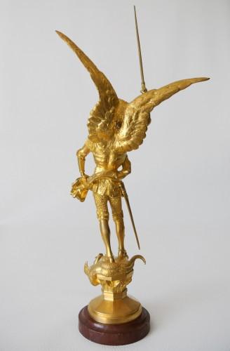 """20th century - """"Saint Michel"""" Emmanuel Frémiet (1824/1910)"""