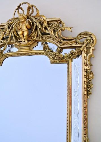 19th century century mirror -