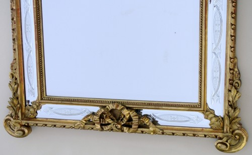 Napoléon III -  19th century century mirror