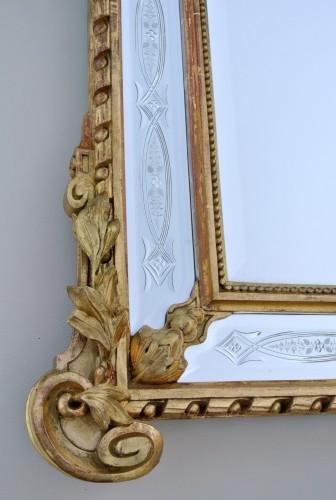 Antiquités -  19th century century mirror