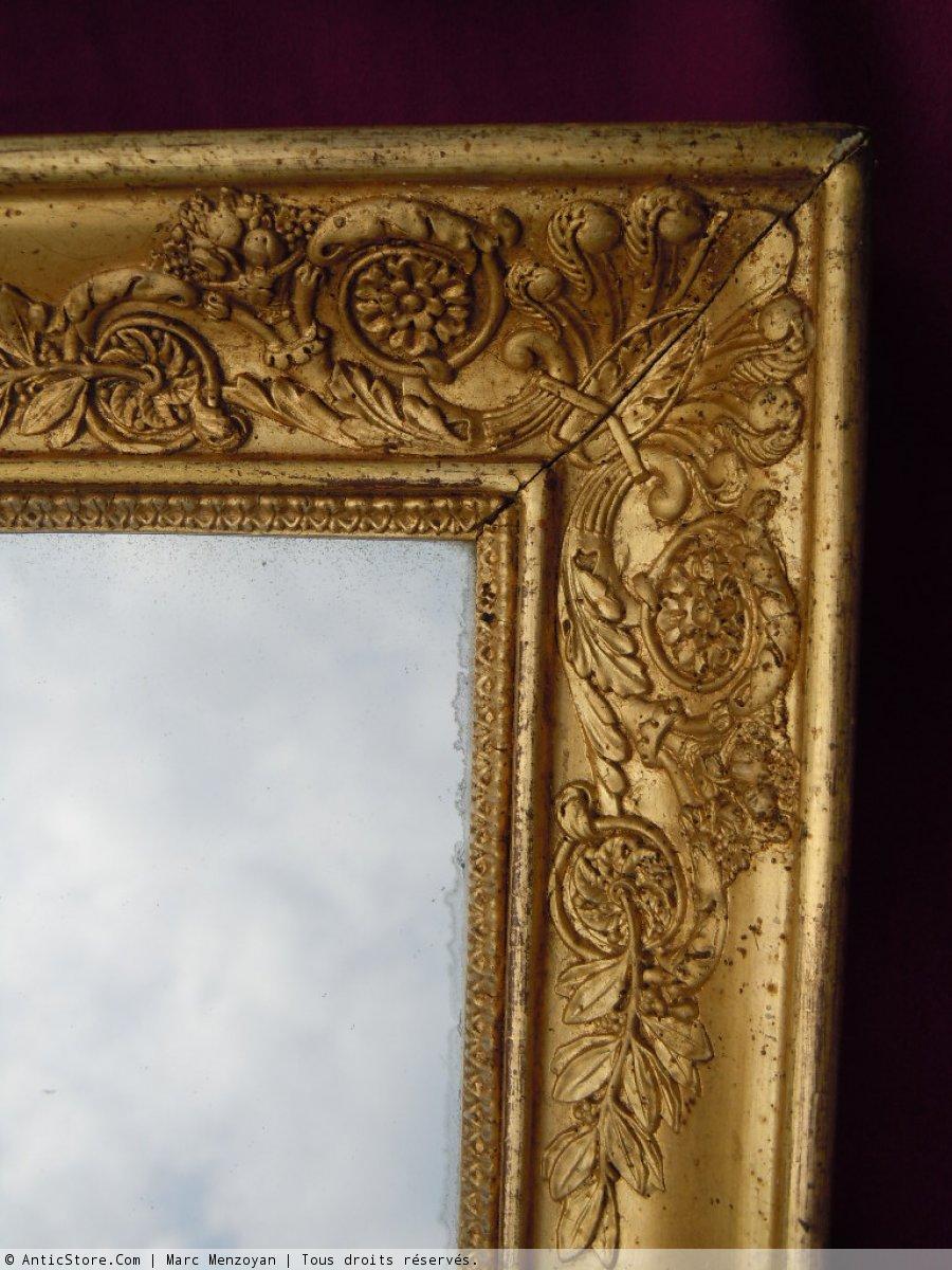 miroir empire antiquit s sur anticstore. Black Bedroom Furniture Sets. Home Design Ideas