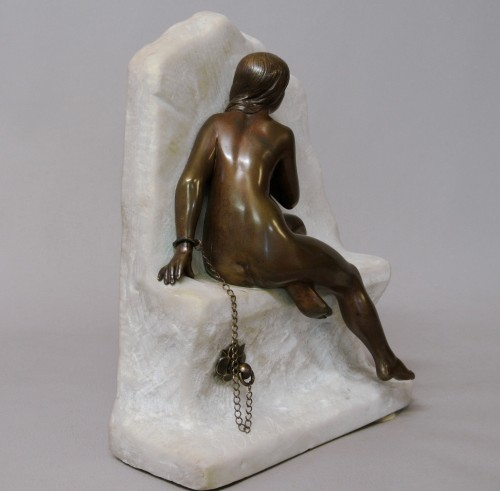 Sculpture  - Chained Andromeda, Gustave Obiols 1858/1910