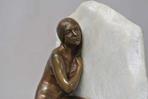 20th century - Chained Andromeda, Gustave Obiols 1858/1910